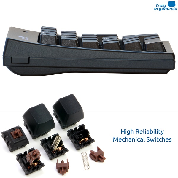 Truly Ergonomic Numeric Keypad - The Most Comfortable and Ergonomic Working Experience