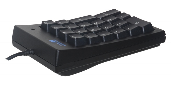 Truly Ergonomic Numeric Keypad - long USB cable