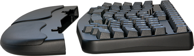 Truly Ergonomic Keyboard - Cushioned & Detachable Palmrest