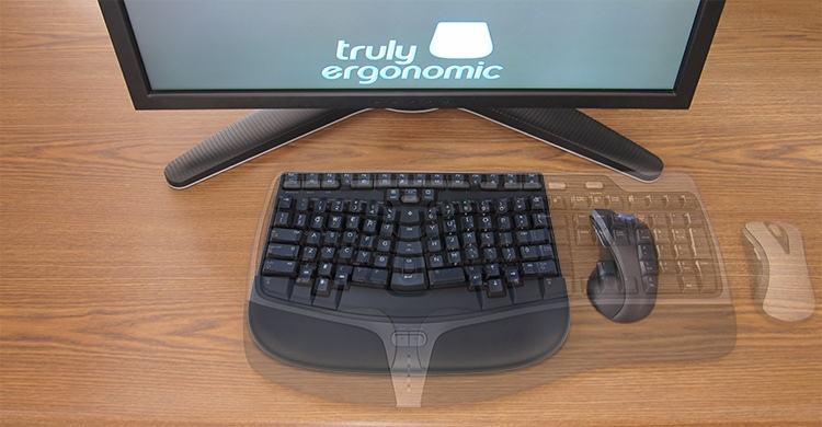 Truly Ergonomic Mechanical Keyboard and Microsoft Natural Sculpt Comparison